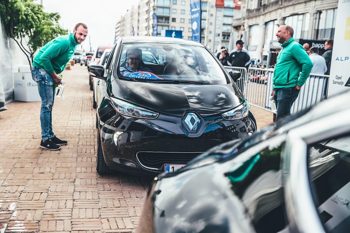 Yuso 100% groene stroom Nieuwpoort Drivers Days