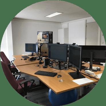 bedrijvencentrum waregem telewerken yuso kantoor