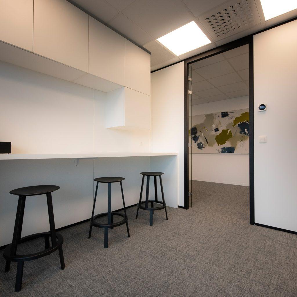 Yuso's Yuso verhuist naar een nieuw kantoor met teleconferencing apparatuur: Waterfront in WaregemWaterfront in Waregem